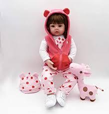 OCSDOLL Reborn Baby Dolls Handmade Soft <b>Silicone</b> Babies