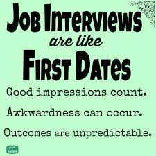 job interviews are like first dates printable quote job interviews are like first dates printable quote
