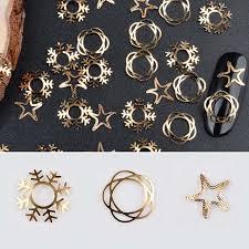 Интернет-магазин Новые золотые <b>наклейки</b> для дизайна <b>ногтей</b> ...