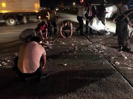 Atatürk Havalimanı'nda para torbası patladı