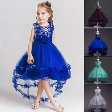 TB Children <b>Girls</b> Kid <b>Teenager</b> Tulle Evening party dinner Dress ...