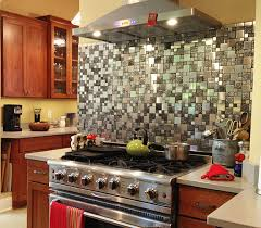 kitchen backsplash stainless steel tiles: quotwe fell in love instantly with the roman stainless steel