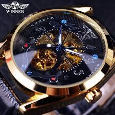 Winner <b>Luxury</b> Gold Watch Mens Watches Top Brand <b>Luxury</b> Full ...