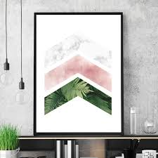 <b>Nordic Pink Marble</b> Poster in 2019 | Living room canvas art, Pink ...