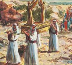 Image result for touching the ark of the covenant