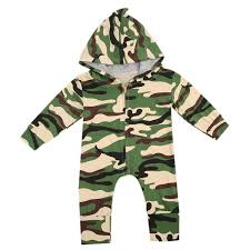 Toddler Baby Boys Romper Infant Boys <b>Military Style</b> One Pieces ...