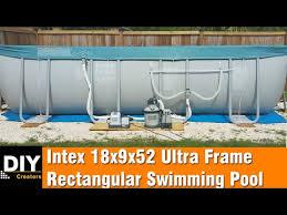 <b>Intex Prism Frame Oval</b> Pool Set | Intex Indonesia - YouTube