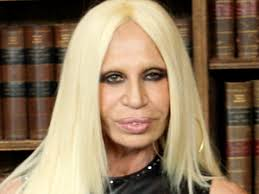 Donatella Versace at Oxford Union where she is a guest speaker. © PA Images / Steve Parsons/PA Wire. Donatella Versace - showbiz_celeb_pictures_310512_donatella_versace