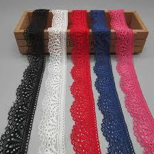1yard green elastic <b>lace</b> ribbon 18CM wide embroidered <b>nigerian</b> ...