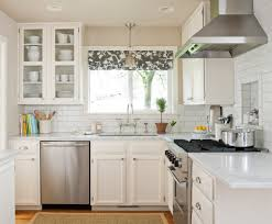 White Kitchen For Small Kitchens Pretty Small Kitchens With White Cabinets On Kitchen Kitchen