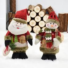 Рождественские украшения Новогодние куклы Санта Клаус ...