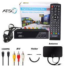 <b>Atsc tuner ota decoder</b> Analog digital converter box with recording tv ...