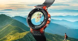<b>Smart Outdoor Watch</b>   PRO TREK <b>Smart</b>   CASIO