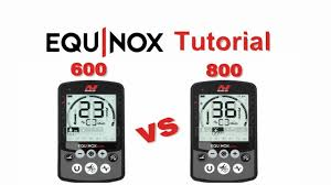 Differences between the <b>Minelab Equinox 600</b> and 800 metal ...