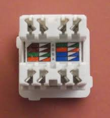 terminating cate cable on a jack wall mount or patch panel cat5e rj45 jack clipsal style from infocomm engineering
