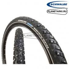 "<b>Покрышки SCHWALBE Marathon</b> Winter Active 18""х1.60"" black"