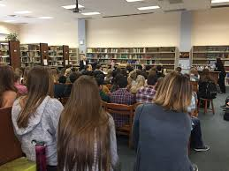 the glen echo career day sparks students interests a panel of expert presenters from respective careers sat before the students each period each