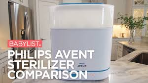 Philips AVENT Sterilizer Comparison: 3-in-<b>1 Electric</b> vs. Microwave ...