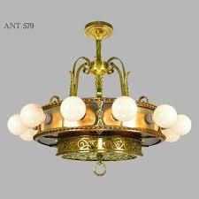 antique bare bulb 18 light chandelier 1910s 1930s ceiling fixture ant 579 for sale bare bulb lighting
