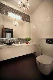bathroom above mirror lighting bathroom contemporary with black tile floor mosaic tile wall above mirror lighting bathrooms