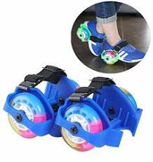 Buy Lukzer 1 Pair <b>Flashing Colorful</b> 2 Wheels Street <b>Roller</b> Skates ...