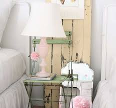 Shabby Chic Bedroom Lamps Shabby Chic Table Lamp Shabby Chic Cottage Roses Floral White