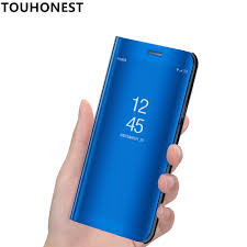Mate 9 Pro Mirror Clear View <b>flip Cover</b> For Huawei Mate 10 lite ...