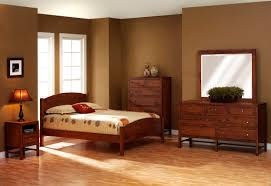 f simple design of mission bedroom furniture with legacy cherry wood low profile bed and vintage teak wooden dresser using square mirror frame to bedroom furniture inspiration astounding bedrooms