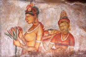 Image result for sigiriya frescoes