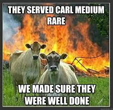 Best of the 'Evil Cows' Meme!   SMOSH via Relatably.com