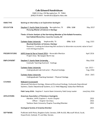 resume cole hendrickson cole hendrickson resume