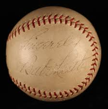 lot detail 1937 sinclair oil babe ruth contest baseball 1937 sinclair oil babe ruth contest baseball