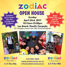 maurice cody parents zodiac day camp and zodiac day care is having an open house on sunday 23 leo baeck from 10 15 a m 12 30 p m