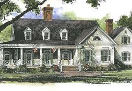 Farmhouse House Plans   Southern Living House PlansSl