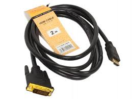 <b>Кабель HDMI</b>-<b>DVI 2.0м</b> Telecom LCG135E-2M/LCG135F-2M от ...