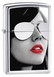 <b>Зажигалка Zippo</b> 28274 <b>Sunglasses High</b> Polish Chrome. Купить ...