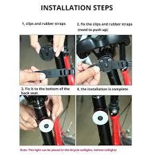 Sporting Goods <b>Waterproof LED</b> Bicycle Bike Cycling <b>Rear Tail</b> Light ...