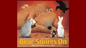 home finding children s books in the occc library libguides at book cover for bear snores on