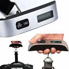 Модный дорожный чемодан Electronic 50 кг / 10г Весы для ... - Vova