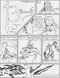 survey of british literature block due tuesday th graphic novel essay beowulf translated by seamus heaney