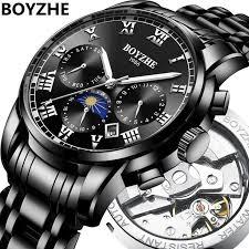 <b>BOYZHE Men</b> Automatic Mechanical Fashion <b>Luxury</b> Brand ...