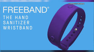 Freeband, <b>hand sanitizer wristbands</b> made with <b>reusable</b> and ...