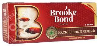 Купить <b>Чай черный Brooke Bond</b> 25 пак с доставкой на дом по ...