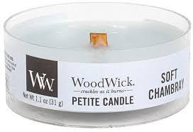 <b>Ароматическая свеча</b> в стакане - Woodwick Petite Candle <b>Soft</b> ...