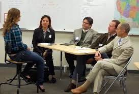 rchs students get a taste of the real world mock job interviews a