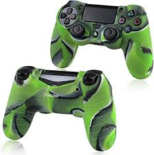 For PS4 Controller <b>Silicone</b> Skin Case Cover, Insten <b>Rubber</b> ...