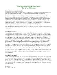 baseball resume for college template baseball resume for college