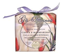 Купить <b>мыло Gli Officinali Calla</b> Lily &amp; Rosemary Soap 200г