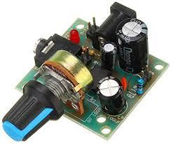ILS. - LM386 Mini DC 3V to 12V Amplifier Board ... - Amazon.com