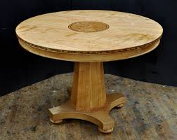 dining table woodworkers: a custom round cherry dining table